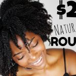 $20 Natural Hair Routine ???? Affordable Twistout on 4c Hair [Video]