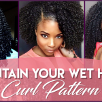 6 Ways to Maintain Your Wet Hair Curl Pattern