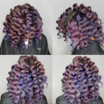 Dope color blend by @eclectic_vibez