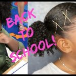 Back To School + Cool Curly Hairstyle For Kids [Video]