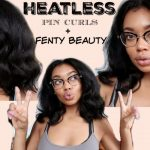 Beauty Vlog: HEATLESS PIN CURLS [Video]