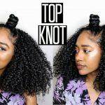 Easy Top Knot for Natural Hair feat. Matrix Style Link [Video]
