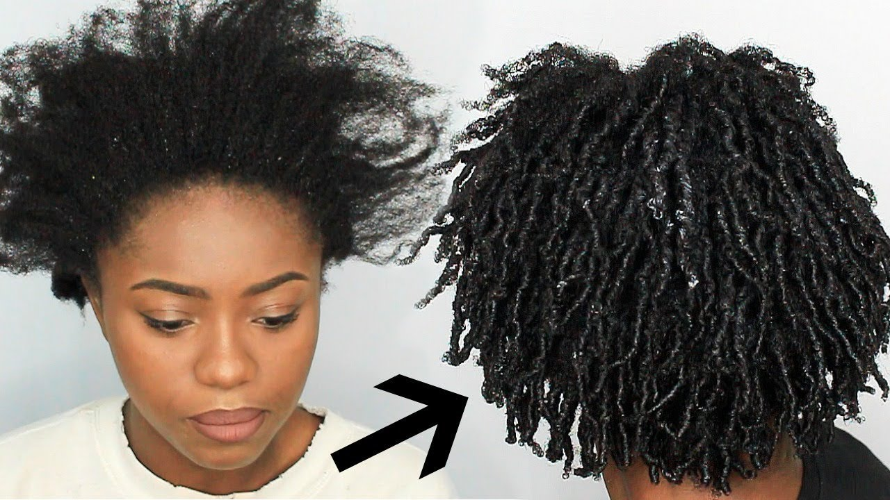 Finger Coils On 4c Natural Hair First Impression Video