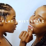 FLAT TWIST STYLE + How to Get Instantly FULLER EDGES! [Video]
