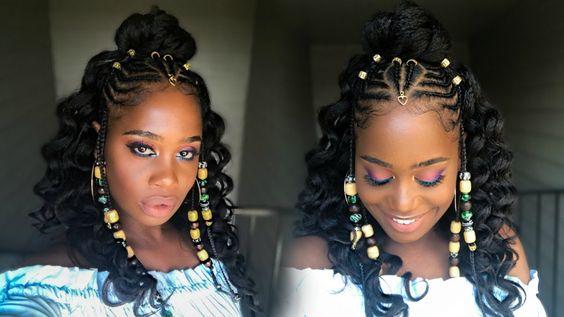 43 Fulani Braid Style Inspiration Gallery - Black Hair ...