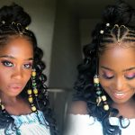 Fulani Inspired Braids with Beads feat Her Given Hair (Alicia Keys inspired)  [Video]
