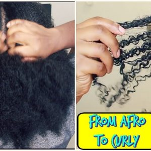 How I Revert Back to Curly After African Hair Threading | Wash Day [Video]