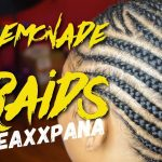 How To: Lemonade Braids | Small Feed in Braids [Video]