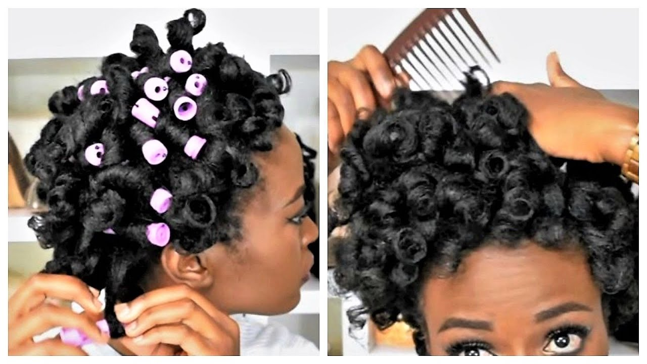 My Best Heatless Perm Rod Set On 4c Natural Hair Tr 233 Luxe