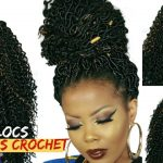 NO CORNROWS NO BRAIDS! BRAIDLESS CROCHET FAUX LOCS TUTORIAL (1.5 HRS) 4C NATURAL HAIR [Video]