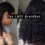 The Lazy Braid Out | ft As I Am Naturally [Video]