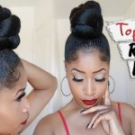 THE TOP KNOT ROPE BUN ➟ hair how-to [Video]