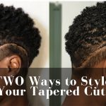 TWO Easy Ways to Style Tapered Cut! | Curl Sponge + Wash n Go | Big Chop  [Video]