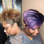 Dope color transformation @oluchizelda