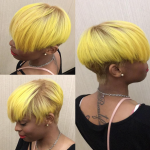 Edgy yellow @msklarie