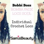 Bomba Faux Locs Soul 12″ INDIVIDUAL GODDESS CROCHET LOCS | SAM'S BEAUTY [Video]