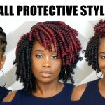 Crochet Braids Tutorial: Fall Inspired Protective Style using Kima Kalon [Video]