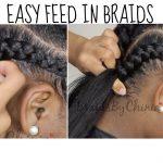DETAILED Easy Feed In Braid Tutorial [Video]