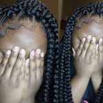 EASIEST TRIANGLE PLAITS (RUBBERBAND METHOD) [Video]