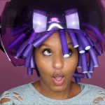 Flexi Rod Set on Transitioning Hair [Video]