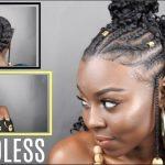 Fulani Styled BRAIDLESS Crochet [Video]