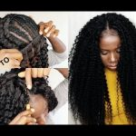 How To – Crochet Method On Sew In Weave No Leave Out – Tutorial For Beginners