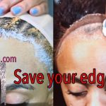 How to Safely Remove A Glued 360 Lace Wig, No Rip Edges  [Video]