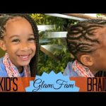 Intricate Children's braided hairstyle [Video]