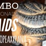 Jumbo Lemonade Braids | Jumbo Feed In Braids [Video]
