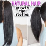 NATURAL HAIR ➟ Growth Tips, Length Check, How to Avoid Heat Damage! [Video]