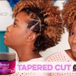 Natural Hair Tapered Cut Hairstyle Tutorial | NEW Mielle Organics Pomegranate & Honey Collection [Video]