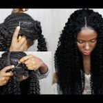 New Technique! NO SEW IN Weave NO Leave Out CROCHET Your Weave 20 Minutes [Video]