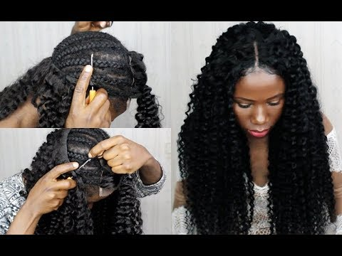 New Technique No Sew In Weave No Leave Out Crochet Your