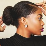 Sleek Realistic Faux Bun | Thick Short Natural Hair [Video]
