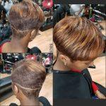 Pixie Cut w/Blond Highlights @fshairshines