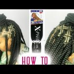 Spider Web Box Braids Tutorial – Step By Step ft RUWA Hair by Sensationnel [Video]