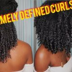 How To – Shingling Method For Extremely Defined Curls – Natural Hair [Video]