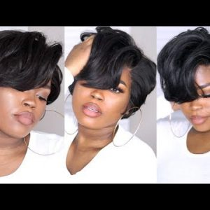 How I Made, Cut, & Styled A Short Bob With A 360 Frontal & A Bundle From Lakihair [Video]