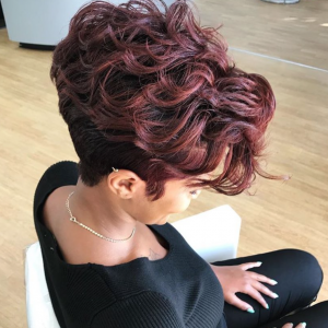 Nice cut and color by @pekelariley