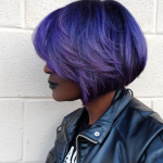 Fierce purple by @salonchristol