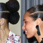Alicia Keys Inspired Natural Hair Updo [Video]