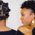 Bantu Knots Tutorial on Short Natural Hair – Perfect for Heat Damaged/Transitioning Hair [Video]