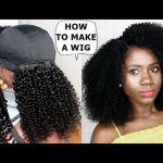 DIY -HOW TO : MAKE A WIG TUTORIAL FOR BEGINNERS [Video]