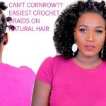 EASY BANTU KNOTS & CROCHET BRAIDS ON NATURAL HAIR | NO CORNROWS [Video]