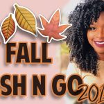 Fall Wash N Go 2017 | Using Affordable Drugstore Products [Video]