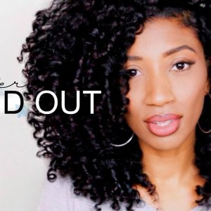 Heatless Winter Braid Out on Stretched Hair for Naturals [Video]