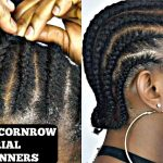 HOW TO CORNROW YOUR OWN SHORT NATURAL HAIR TUTORIAL [Video]