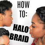 HOW TO: HALO Braid on STRETCHED NATURAL HAIR [Video]