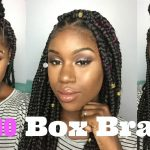 How To: Jumbo Triangle/Box Braids [Video]