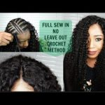HOW TO SEW IN YOUR HAIR LIKE A PRO|| NO LEAVE OUT , NO CLOSURE|| CROCHET METHOD || FT ALI PEARL HAIR [Video]